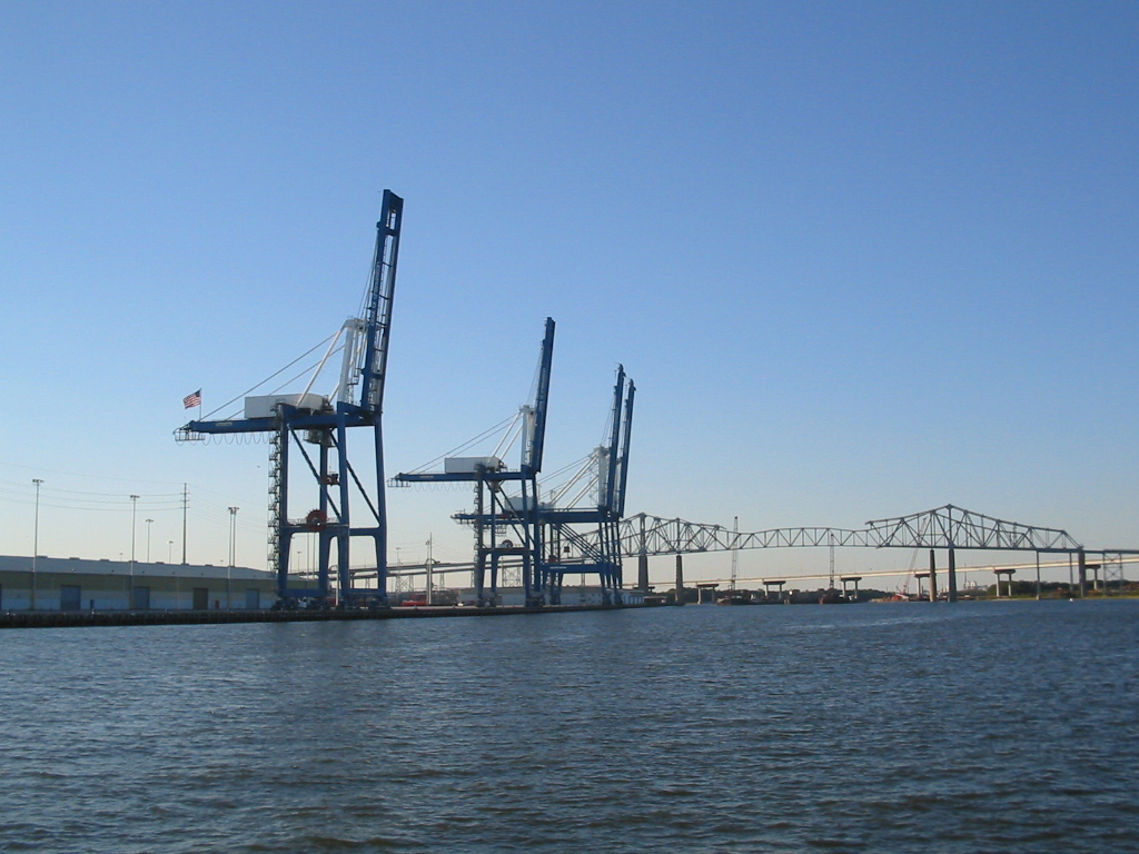 Port of Charleston cranes