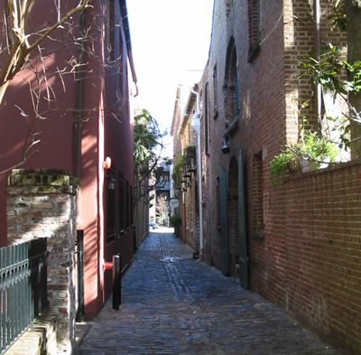 Alley in Downtown Charleston