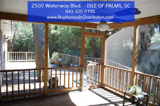Isle Of Plams Home for Sale - 2500 Waterway