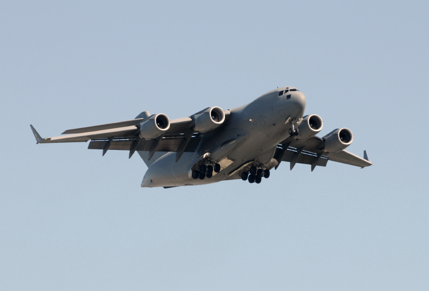 Charleston Air Force Base C-17 Globemaster