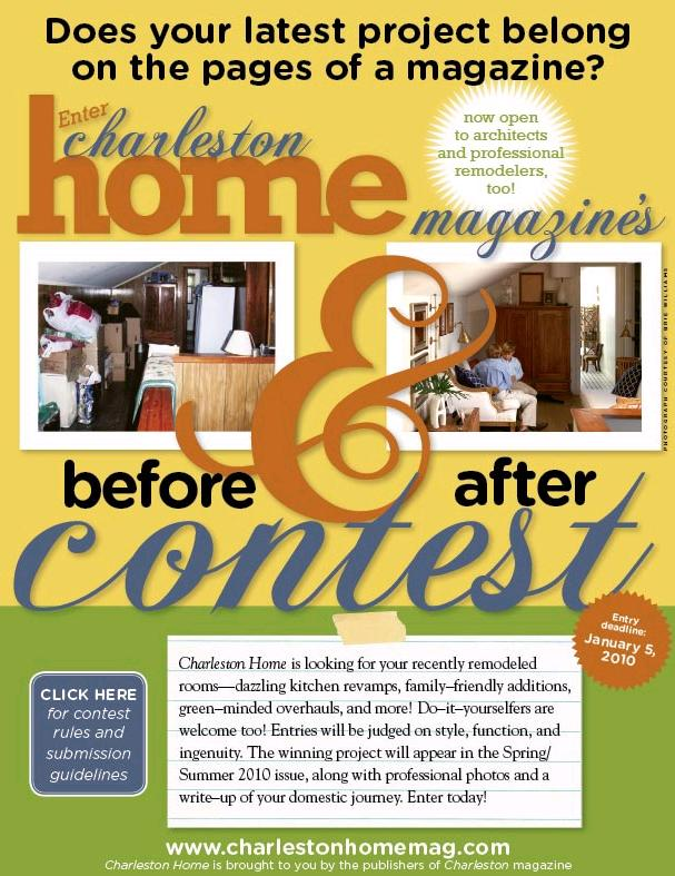 Charleston Magazine Remodeling Contest