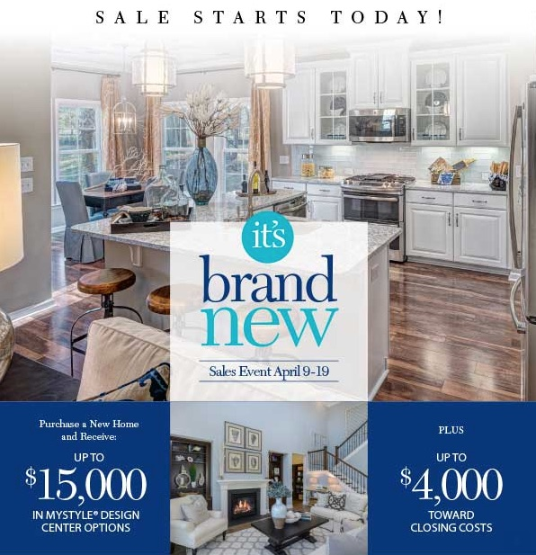 Ryland Homes Sale Event