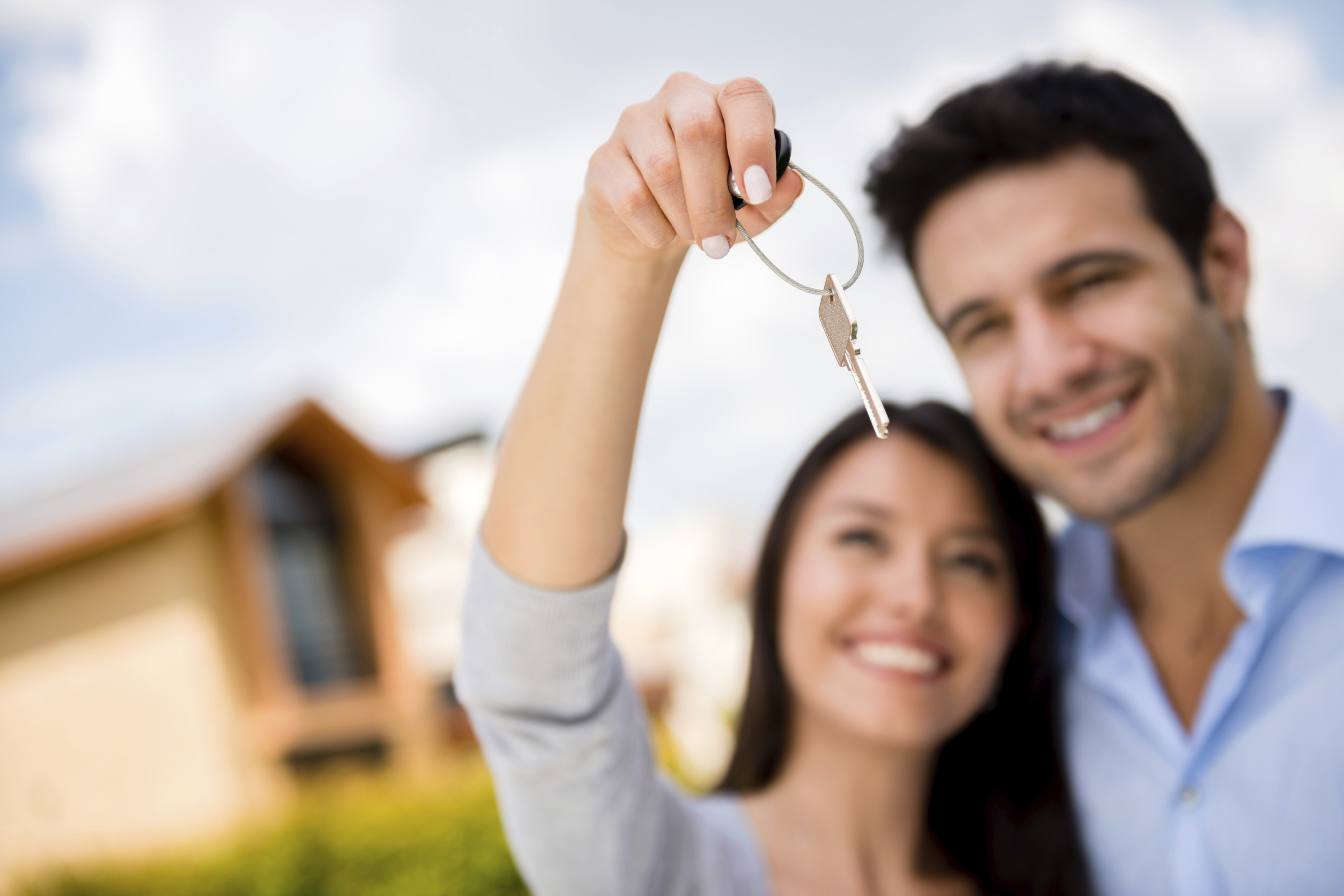 Young first time home buyers
