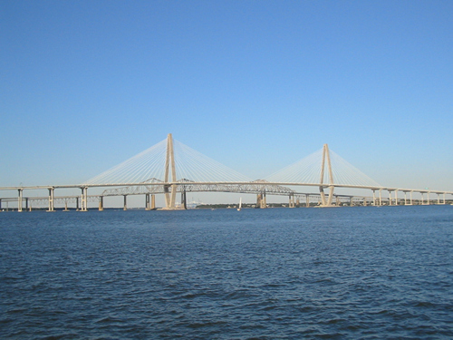 Ravenel Bridge over the Cooper River between Charleston and