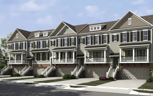 Carolina Walk New Construction Townhomes in Mount Pleasant