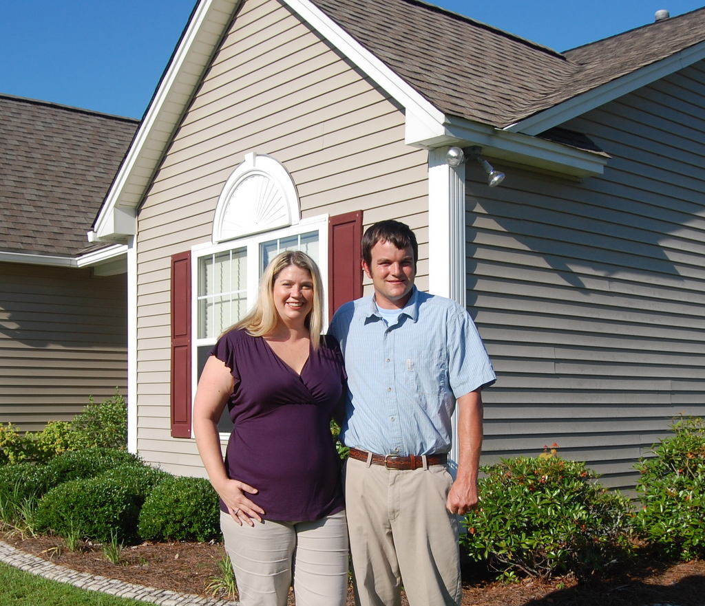 Happy New Home Buyers in Charleston, SC